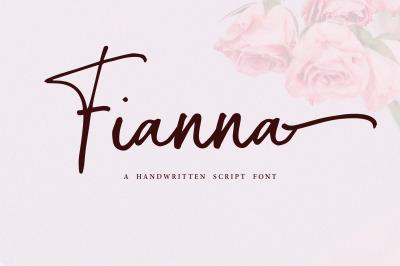 Fianna | Handwritten Script Font