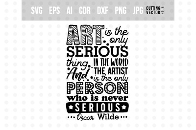 Art is - Typography Design