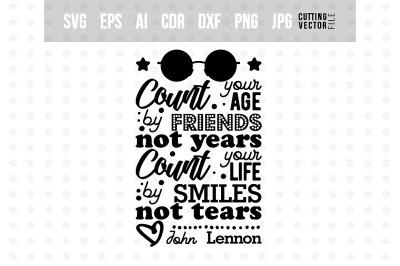 John Lennon's quote - Typography Design
