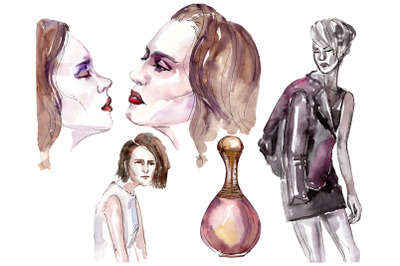 Fashion trend Watercolor png