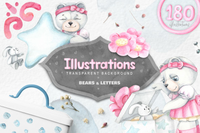 Bears and letters