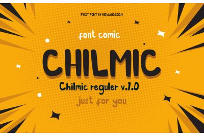 CHILMIC COMIC FONT