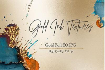 Ink Gold Textures