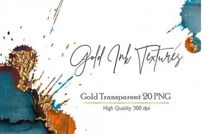 Gold Ink Textures