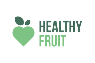 Healthy fruit logo