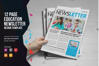 Education Newsletter Design v1