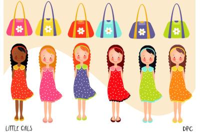 Little Girls Clipart
