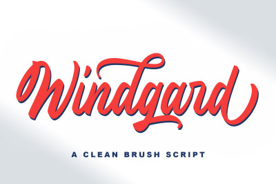 Windgard | Clean Brush Script