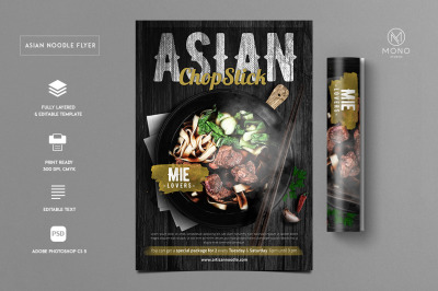 Asian Food Flyer