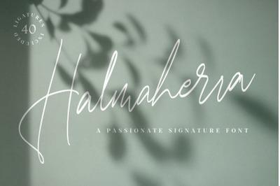 Halmaherra Signature