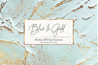 Blue Gold Paint Backgrounds