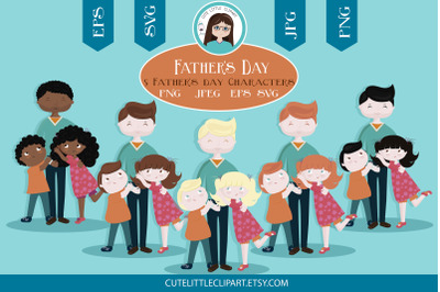 Fathers day clipart and svg