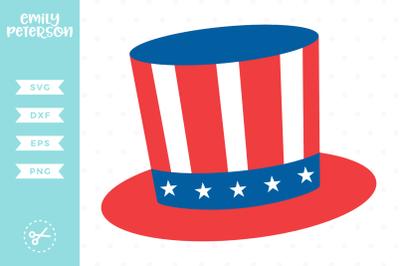 Uncle Sam Hat SVG DXF