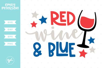 Red, Wine & Blue SVG DXF