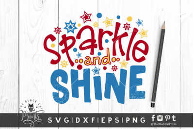 Sparkle and Shine SVG DXF EPS PNG