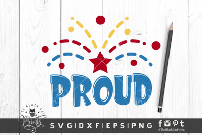 Proud SVG DXF EPS PNG
