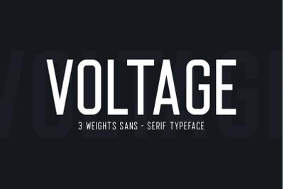 Voltage Sans