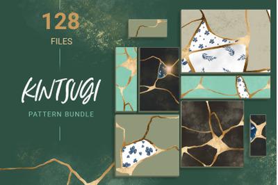 Luxury seamless pattern set