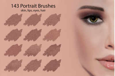 Portrait Brushes for DigitalPainting