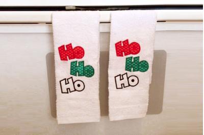 Ho Ho Ho Christmas | Applique Embroidery
