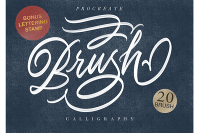 Procreate Brush Calligraphy 25% OFF