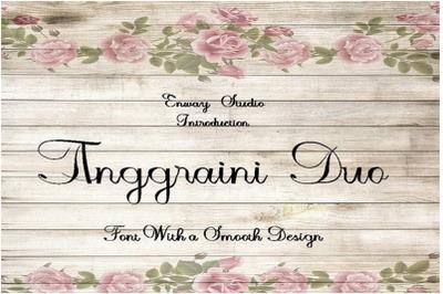 Anggraini Duo Script Font