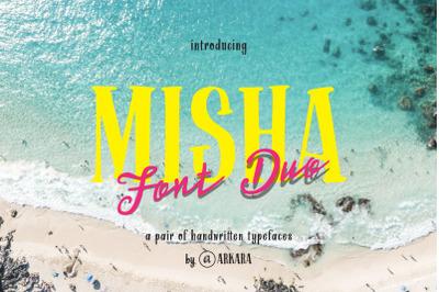 ARK Misha Font Duo