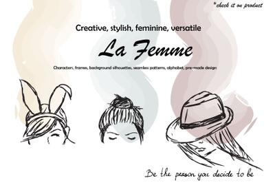 """""""La Femme"""" Graphic Pack"""