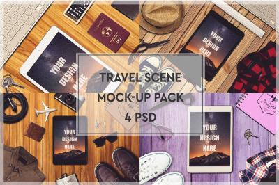 Travel Mockup Big #2