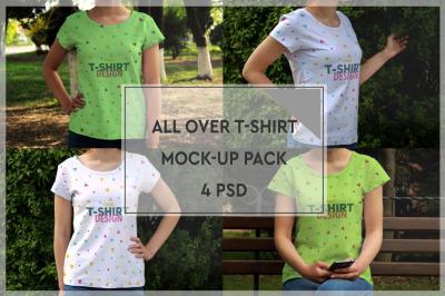 T-Shirt Mockup Pack #1