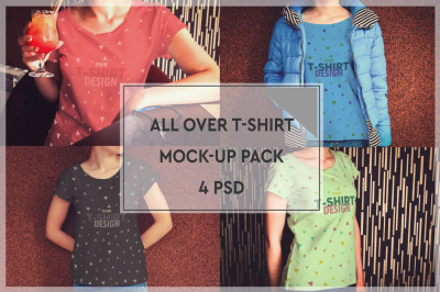 T-Shirt Mockup Pack #2