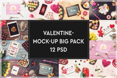Valentine Mockup Big Pack #1
