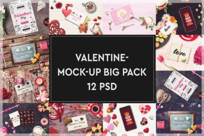 Valentine Mockup Big Pack #2