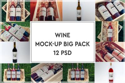 Wine Mockup Big Pack #1