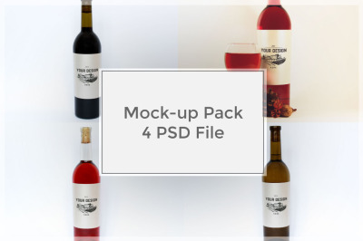 Wine Mockup Pack #3