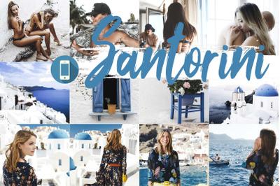 Neo Santorini Theme mobile lightroom presets
