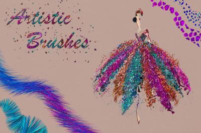 Artistic Brushes for DigitalPainting