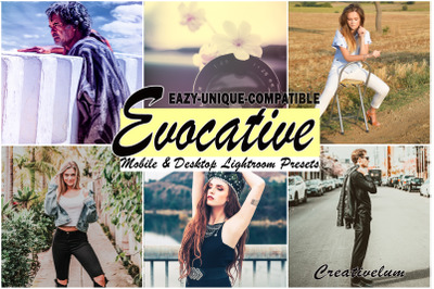 Evocative blogger Instagram Mobile and Desktop Lightroom presets