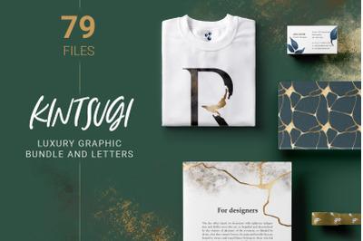 Luxury Graphic Set and Alphabet