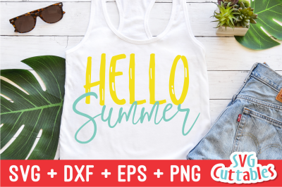 Hello Summer | SVG Cut File