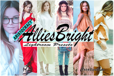 Allies Bright Instagram Blogger Lightroom Presets