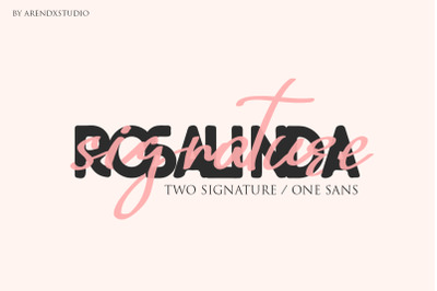 Rosalinda Three Font
