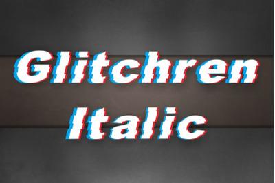 GlitchRen Italic