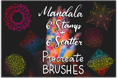 Mandala Procreate Brushes