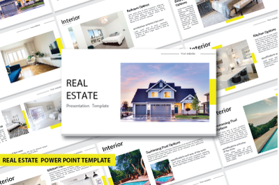 Real Estate Power Point Template