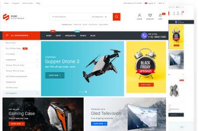 Sumi - Electronics WordPress Theme for WooCommerce