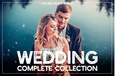 Wedding Complete Collection LR//PS//ACR