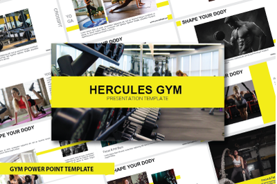 GYM Power Point Template