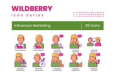 95 Influencer Marketing Icons