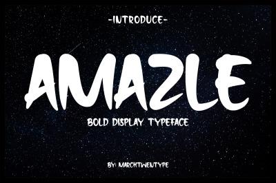 Amazle Typeface